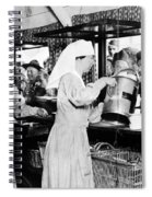 World War I: Red Cross Spiral Notebook