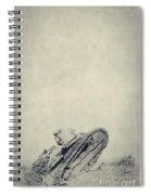 World War I Tank In Trench Warfare Spiral Notebook