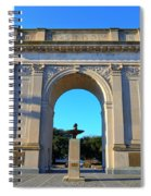 World War I Victory Arch Newport News Spiral Notebook