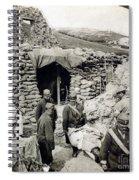 World War I: Wounded, 1918 Spiral Notebook