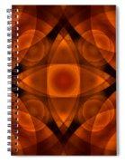 Worlds Collide 15 Spiral Notebook