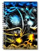 Worlds Collide Spiral Notebook