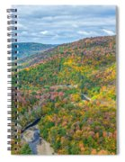 Worlds End State Park Lookout Spiral Notebook
