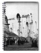 World's Fair Windmills Spiral Notebook