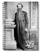 World's Longest Beard Spiral Notebook