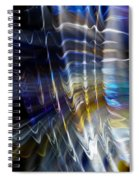 Wormhole Flaring Spiral Notebook