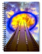 Wormhole Generator 2 Spiral Notebook