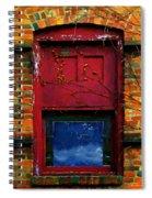 Wormhole Window Spiral Notebook