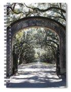 Wormsloe Plantation Gate 2x3 Spiral Notebook