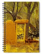 Worn And Weathered Spiral Notebook
