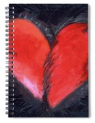 Wounded Heart Spiral Notebook