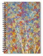 Woven Branches Long Spiral Notebook