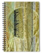 Woven Branches Spiral Notebook