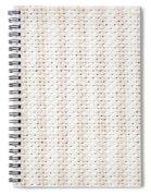 Woven Fabric Spiral Notebook