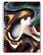 Woven Through 2 Spiral Notebook