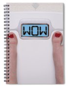 Wow Scale Spiral Notebook
