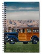 Wow Woodie Spiral Notebook