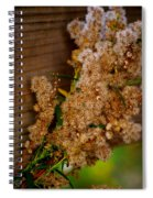 Wrapped Around The Fence Spiral Notebook