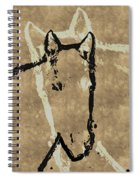 Wrapped Around Your Neck Spiral Notebook