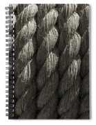 Wrapped Up Tight Sepia Spiral Notebook