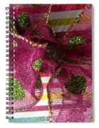 Wrapped Up With A Bow Spiral Notebook