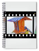 Wreckage Strip Spiral Notebook