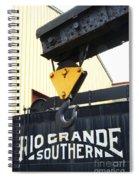 Wrecker Hook Spiral Notebook
