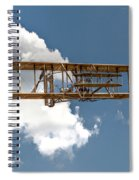 Wright Brothers First Flight Spiral Notebook
