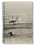 Wright Brothers - First In Flight Spiral Notebook