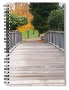 Wrights Park Bridge Spiral Notebook