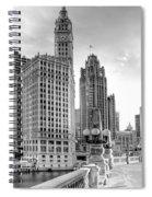 Wrigley And Tribune Spiral Notebook