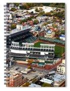 Wrigley Field Chicago Sports 01 Spiral Notebook