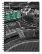 Wrigley Field Chicago Sports 04 Selective Coloring Spiral Notebook