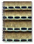 Wrigley Field Grandstand Seats From Upper Deck Spiral Notebook