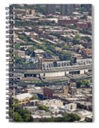 Wrigley Field - Home Of The Chicago Cubs Spiral Notebook