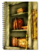 Writer - In The Library  Spiral Notebook