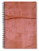 Writing In The Desert Spiral Notebook
