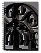 Wrought Iron Spiral Notebook