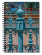 Wrought Iron Fence Spiral Notebook