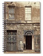 Wrought Iron Gates Spiral Notebook
