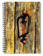 Wrought Iron Handle Spiral Notebook