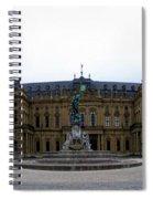 Wuerzburger Residenz Spiral Notebook
