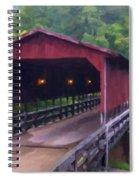 Wv Covered Bridge Spiral Notebook