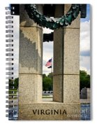 Ww I I Memorial Vintage Spiral Notebook