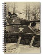 Ww II Battle Of The Bulge 02 Spiral Notebook
