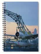 Ww II Sea Plane Spiral Notebook