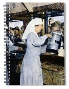 Ww1: Red Cross, 1918 Spiral Notebook
