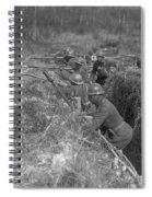 Wwi Black Troops, 1918 Spiral Notebook