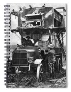 Wwi British Carrier Pigeon Loft Spiral Notebook