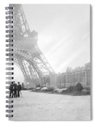 Wwi Eiffel Tower, C1914 Spiral Notebook